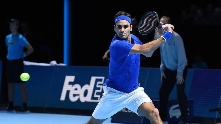 Roger Federer spielt stark verbessert im Vergleich mit seinem ersten Auftritt gegen Nishikori.