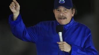 Die Opposition in Nicaragua will bei ihren Protesten gegen den Präsidenten des Landes Daniel Ortega nicht ruhen. (Archivbild)
