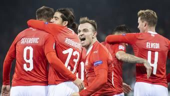 Schweiz Belgien Nations League, Kopie