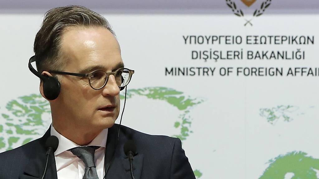 Maas fordert von der Türkei Ende der Provokationen