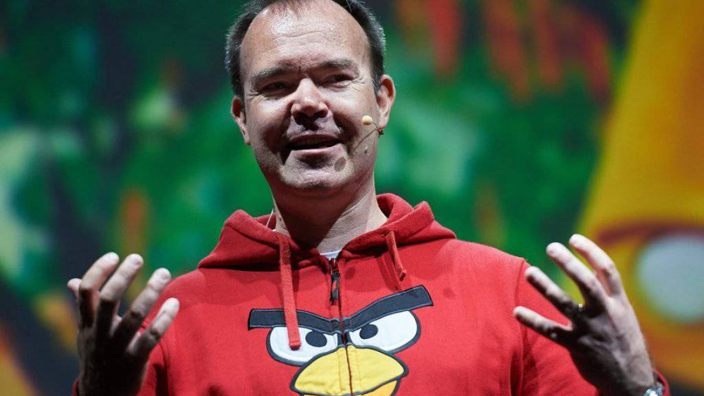 Angry-Birds-Erfinder Peter «The Mighty Eagle» Vesterbacka ist Marketingchef von Rovio. (Archiv)