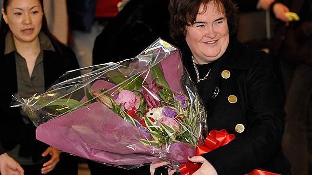 Susan Boyle hat gut lachen (Archiv)