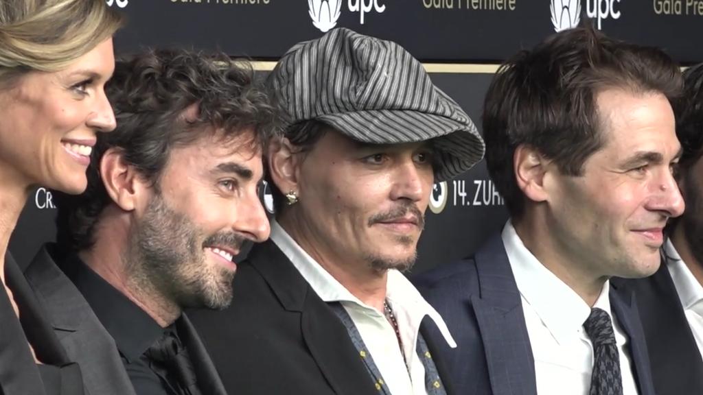 Johnny Depp versetzt Zürich in Aufregung