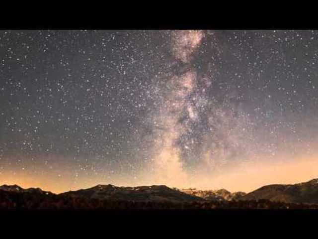 Wunderschön: Der Sternschnuppen-Regen 2009