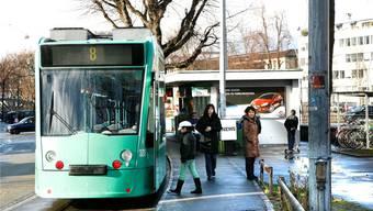 Kleinhüningen bleibt länger als geplant Endstation des 8er Trams.