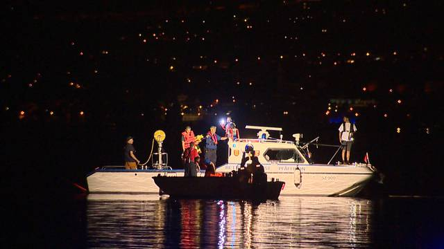 Verletzte nach Bootsbrand auf Zürichsee