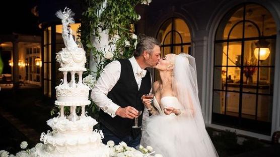 Gwen Stefani zeigt Fotos von Hochzeit mit Blake Shelton