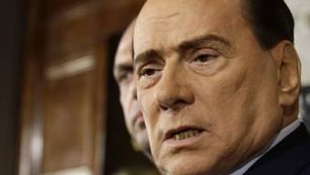 Im Rubygate-Prozess wird Urteil gegen Berlusconi (Archiv) erwartet