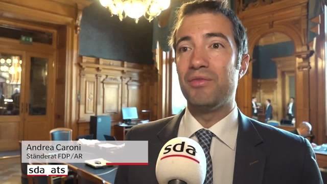 """Caroni: """"Die Ostschweiz gehört wieder in den Bundesrat"""""""