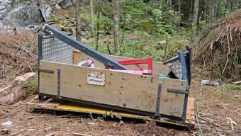 Die abgestürzte Seilbahn wurde am Sonntag geborgen. Hinweise auf eine mögliche Absturzursache sind zum jetzigen Zeitpunkt nicht vorhanden.