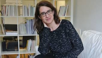 Bettina Spoerri, seit einem Jahr Leiterin des Aargauer Literaturhauses, präsentiert den Lenzburgern ihr erstes Buch.