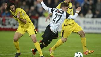 FC Aarau besiegt Lugano mit 3:2