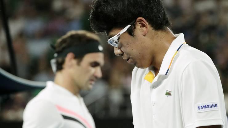 ... auf den 21-jährigen Südkoreaner Hyeon Chung (ATP 54).