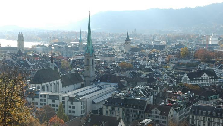 Zürcher Innenstadt: Hier gibt's am meisten Business-Apartments und Zweitwohnungen.