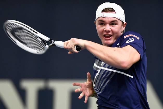 Der Berner Linkshänder Dominic Stricker gewann 2020 die Junioren-Konkurrenz in Roland Garros – im Einzel und im Doppel.