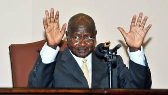 Der ugandische Präsident Yoweri Museveni