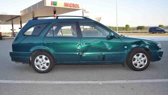 An den am Unfall beteiligten Fahrzeugen entstand Sachschaden von mehreren Tausend Franken.