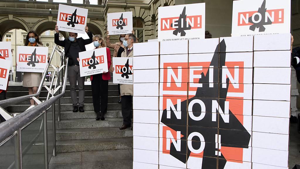 Koalition aus Gsoa, SP und Grünen lanciert Volksinitiative