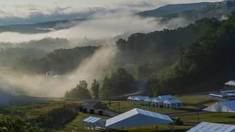Das Weltpfadfinderlager findet dieses Jahr auf dem Gelände einer renaturierten Tagebaumiene in Oak Hill im US-Bundesstaat West Virginia statt. (Archivbild)