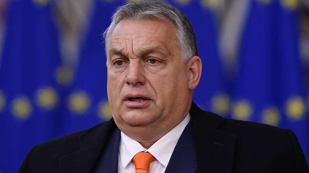 ARCHIV - Der ungarische Premierminster Viktor Orban will die Ausschreitungen in den USA nicht kommentieren. Foto: John Thys/Pool AFP/AP/dpa