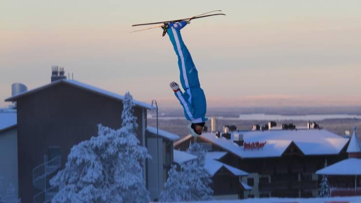 Damit endet die Skiakrobatik-Karriere von Dimitri Isler.