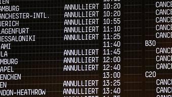 Dutzende Flüge sind vom Streik des Eurowings-Kabinenpersonals betroffen. (Archivbild)