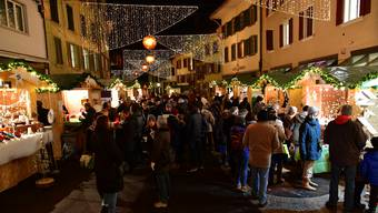 Advents- und Weihnachtsmärkte Kanton Solothurn 2018