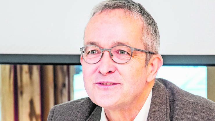 «Persönlich befürworte ich das Volksbegehren», sagt Thomas Weber.