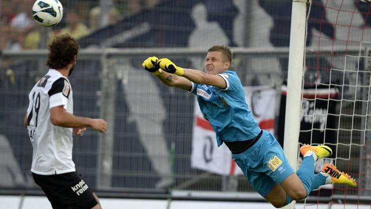 Andris Vanins kommt vom FC Sion nach Zürich.