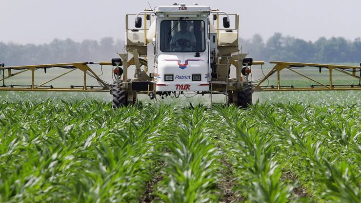 Es wird auch in der Landwirtschaft eingesetzt: Die im Unkrautvernichtungsmittel Roundup enthaltene Chemikalie Glyphosat verursachte bei Labortieren Tumore. (Symbolbild)