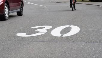 Der Grund für die Petition zur Aufhebung der Tempo 30 Zone bleibt unklar. (Symbolbild)