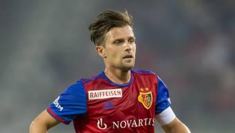FCB-Kapitän Valentin Stocker ist rundum zufrieden mit der Leistung seiner Mannschaft, die aktuell mit ihm auf der Erfolgswelle reitet.