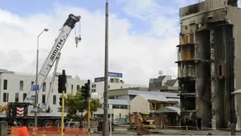 Christchurch ist noch immer stark von den vergangenen zwei Erdbeben gezeichnet (Archiv)