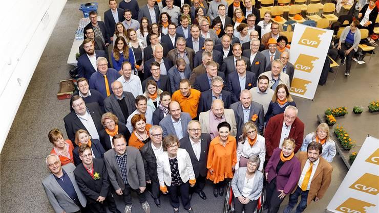 Die CVP tritt mit acht Unterlisten, auf denen über 120 Namen stehen, für die Nationalratswahlen an.