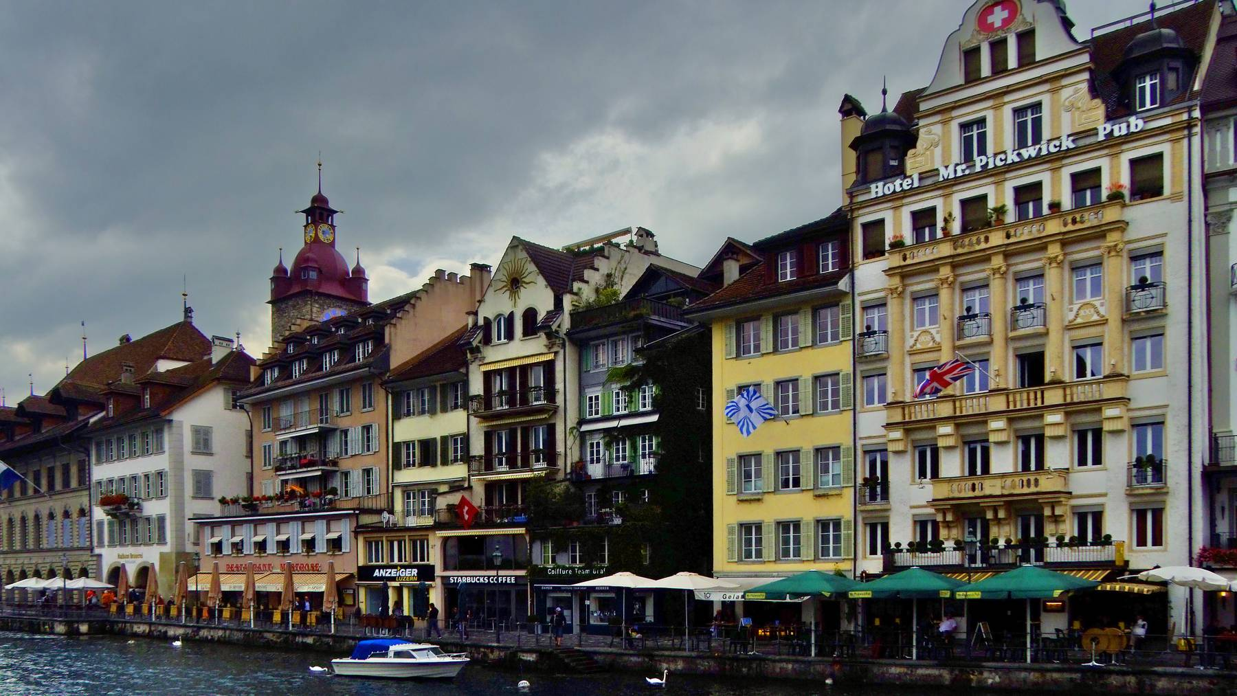 Luzern ist wie die ganze Zentralschweiz ein attraktiver Ort zum Wohnen, sagt eine neue Studie.