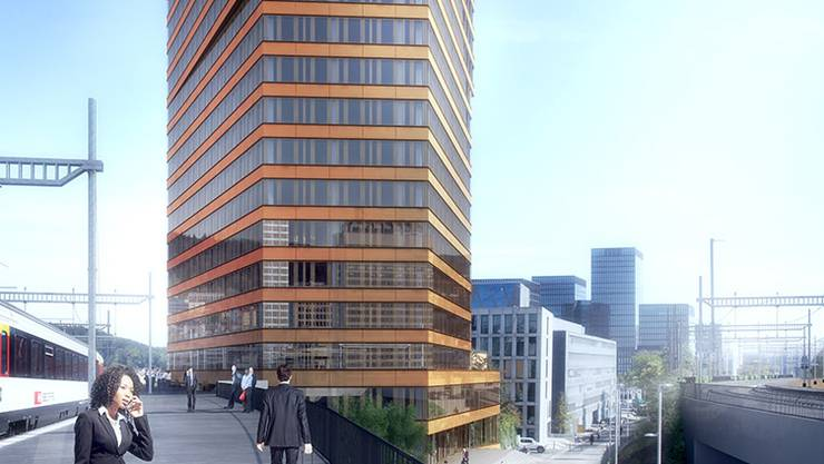 Der Andreasturm soll ab 2018 die Skyline von Zürich Nord mitprägen.