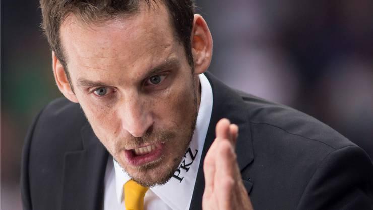 Trainer Patrick Fischer weist konsequent die Richtung in Lugano.