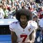 Colin Kaepernick soll laut US-Präsident Donald Trump ein NFL-Comeback geben, wenn er das erforderliche Level erreicht