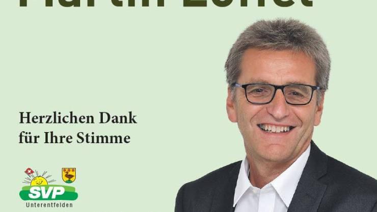 Martin Löffel als Gemeinderat gewählt