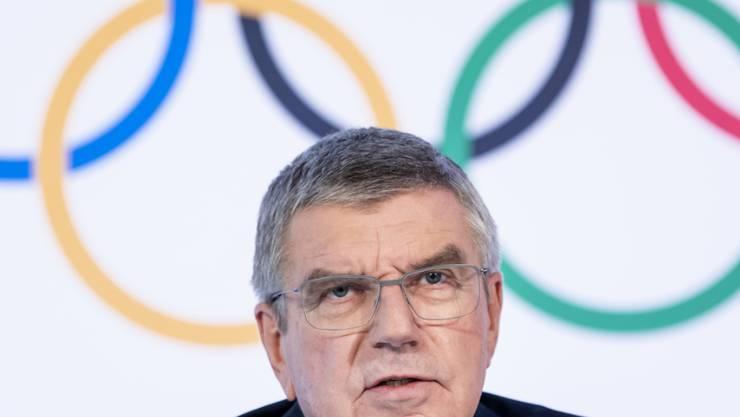 IOC-Präsident Thomas Bach hat den Athleten seine Sicht der Dinge dargestellt