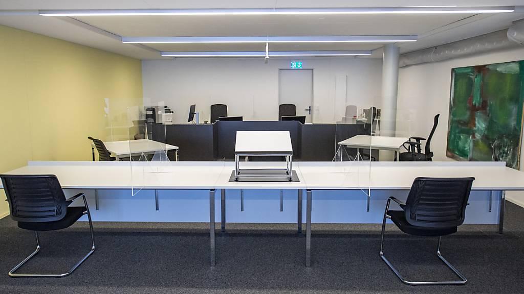 Das Kriminalgericht Luzern, hier sein Verhandlungssaal, stützte sich in seinem Urteil massgeblich auf psychiatrische Gutachten ab. (Archivaufnahme)