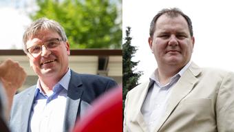Wer wird der neue VSEG-Präsident? Stefan Hug-Portmann (links im Bild) oder Roger Siegenthaler?