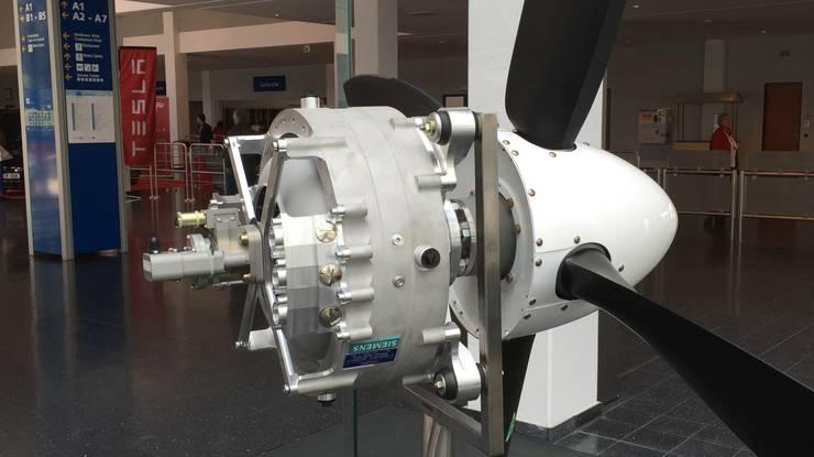 Elektromotor und Propeller: Das Duo der Zukunft für die Mobilität in der Luft.