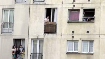 Nur schon der Ortsname schreckt ab: Clichy-Sous-Bois, die berüchtigte Banlieue im Osten von Paris.CHRISTOPHE ENA/keystone