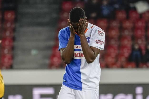 Auch Julien Ngoy muss nach der abgelaufenen Leihfrist zurück zu Stoke City.