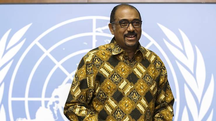 Verlässt seinen Posten wohl früher: Michel Sidibé, Chef des Uno-Programms zur Bekämpfung von Aids. (Archivbild)