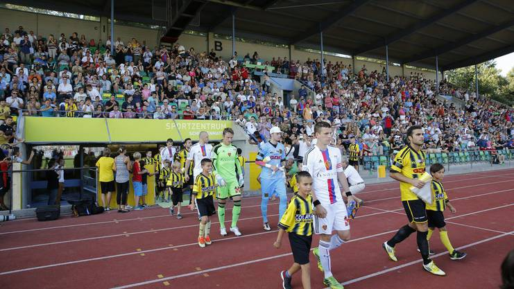 2013 trafen die Old Boys im Cup auf die erste Mannschaft des FC Basel.