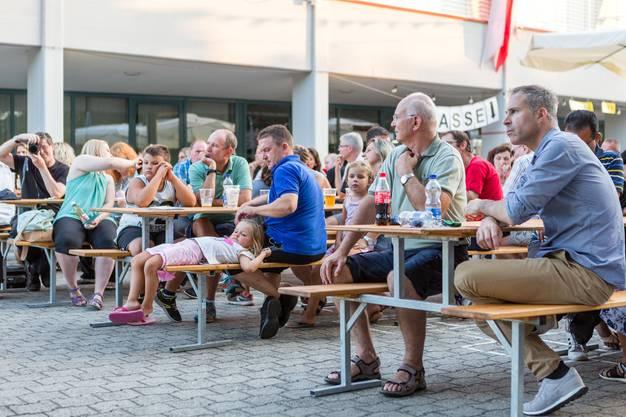 1. August-Feier in Mägenwil am 31. Juli 2018 mit Gastredner Roger Köppel.