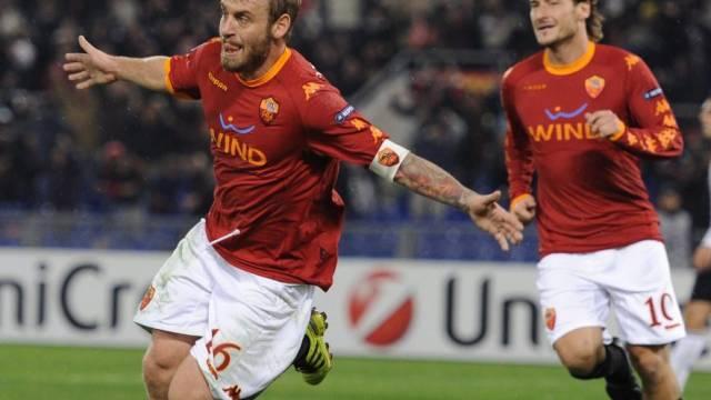 Daniele De Rossi und Francesco Totti drehten die Partie gegen die Bayern