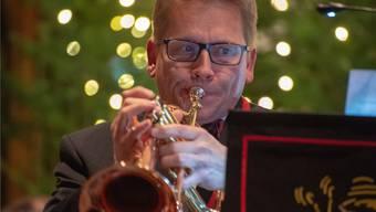 Flügelhornist René Bohner beim Solo.
